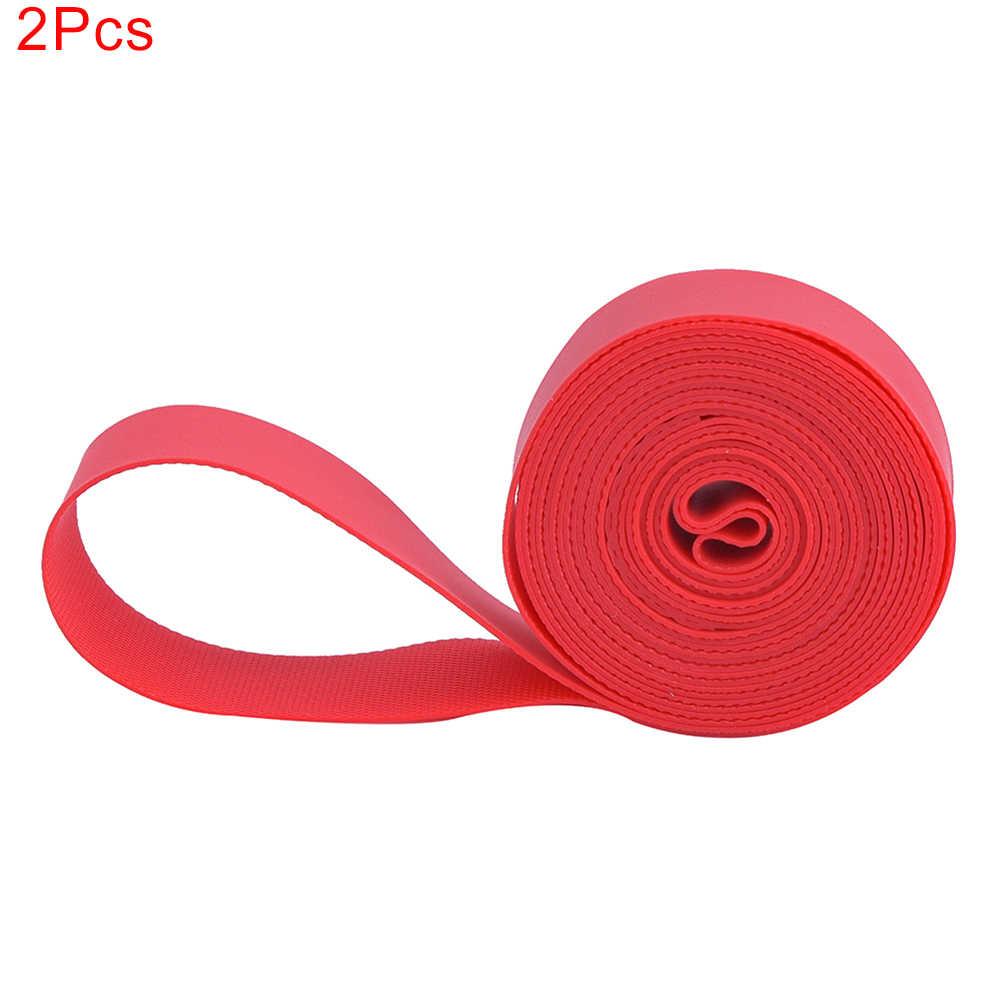 2pcs High Pressure Bicycle Inner Tube Pad Rim Liner Mat Tape 20 24 26 700C