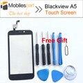 Blackview a5 tela sensível ao toque 100% original substituição do painel de digitador touch screen display para blackview a5 smartphones em estoque