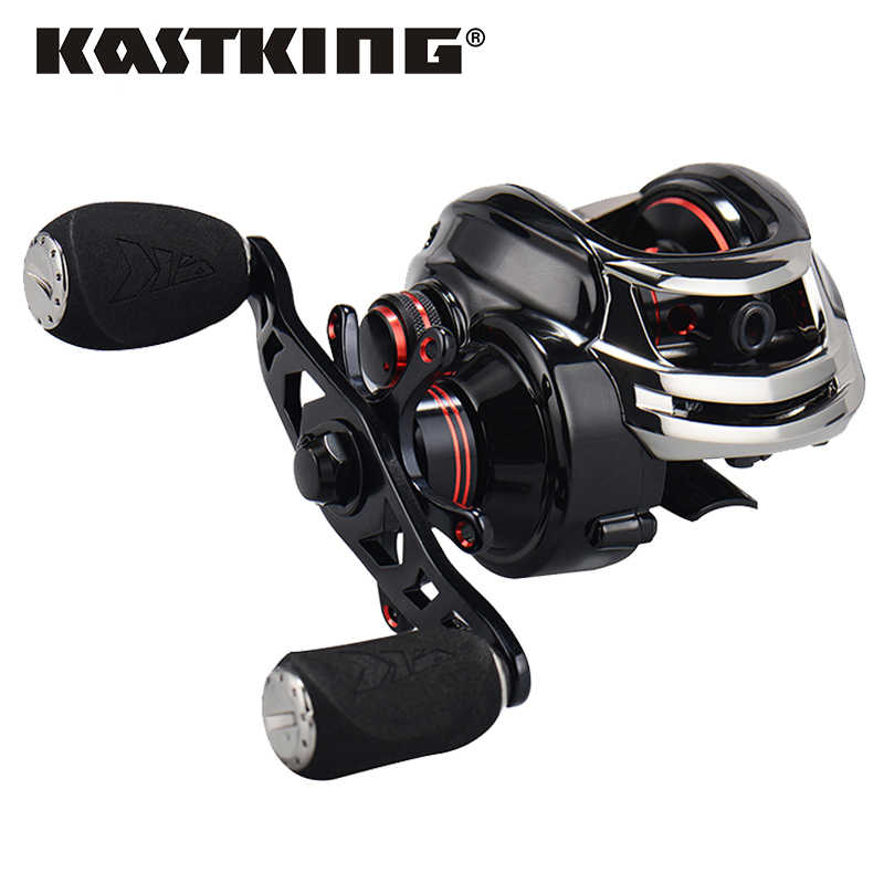 KastKing Royale Legend Right or Left Baitcasting Reel 12BBs 7.0:1 Carp Fishing Reel Magnetic and Centrifugal Dual Brake