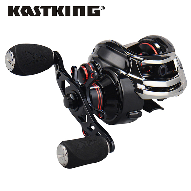 KastKing רויאל אגדה ימין או שמאל Baitcasting סליל 12BBs 7.0: 1 קרפיון דיג סליל מגנטי צנטריפוגלי כפול בלם