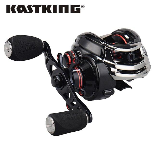 KastKing Royale Legend moulinet de pêche à droite ou à gauche Baitcasting 12BBs 7.0: 1 moulinet de pêche à la carpe magnétique et centrifuge double frein