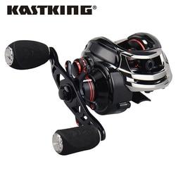 KastKing Royale Lenda Direita ou Esquerda Carretel De Arremesso 12BBs 7.0: 1 Carpa Carretel De Pesca Magnética e Centrífuga De Freio Duplo