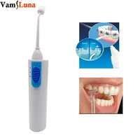 Cordless Elettrico Portatile Flosser Dentale Con Rotativo Jet Pick Denti Cleaner Kit Da Viaggio Con 3 Ugelli