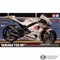 Tamiya 14120 1/12 '09 YZR-M1 OHS Estoril Escala Edição Motocicleta Montagem Modelo de Construção Kits