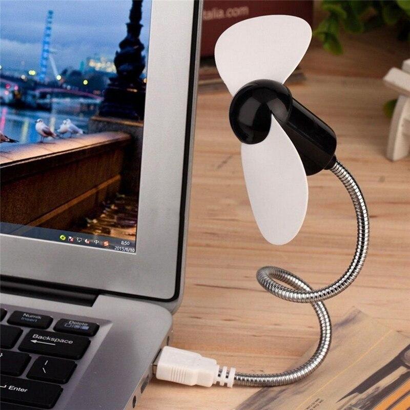 Centechia 2017 New Flexible USB Mini Cooling Fan Cooler For Laptop Desktop PC Computer
