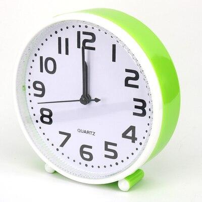 Creative Students Small Desk Clock Cartoon Clock Of Bedroom The