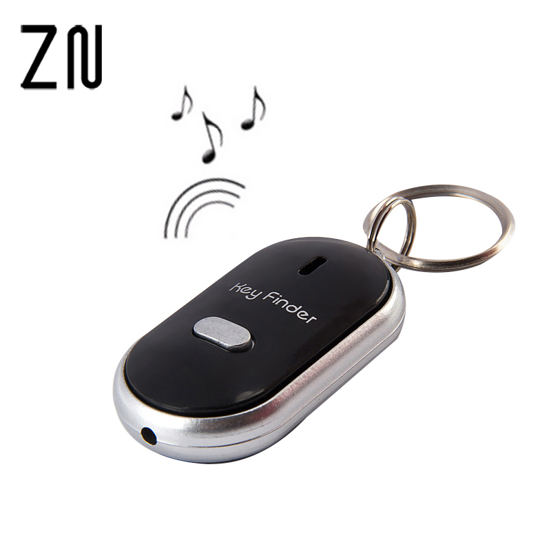 Security & Protection New Bird Key Finder Whistle Finder Keychain Anti-lost Led Electronic Key Find Pendant