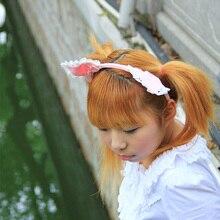 Сладкая лолита принцесса оголовье сладкий аксессуары для волос оголовье принцесса заставку cos волос группа лук розовый кошка уголок