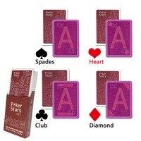 Отмеченные карты, покерные звезды инфракрасные Волшебные маркированные шпаргалки игральные карты для перспективных контактных линз
