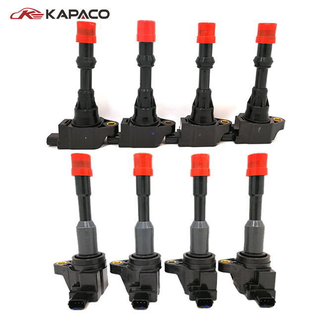 8pcs Front&Rear Ignition Coil 30520-PWA-003 30521-PWA-003 For Honda Civic 7 8 VII VIII JAZZ FIT 1.2 1.3 1.4
