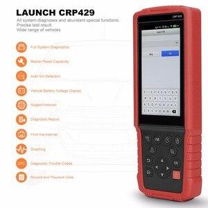 Image 4 - Starten CRP429 OBD2 Diagnosescan werkzeug Android 7,0 Alle System Diagnosen CRP 429 ABS Blutungen, Injektor Codierung, IMMO Schlüssel Programm