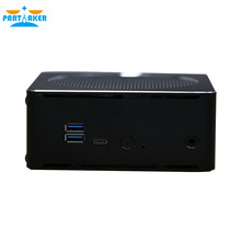 Partaker B18 DDR4 Coffee Lake 8th Gen Mini PC Intel Core i7 8750H 64GB RAM Intel UHD Graphics 630 Mini DP HDMI WiFi partaker game killer mini pc computer intel quad core i7 6700hq gtx 960m gddr5 4gb video ram 1 hdmi 1 dp 1 type c s pdif 5g wifi
