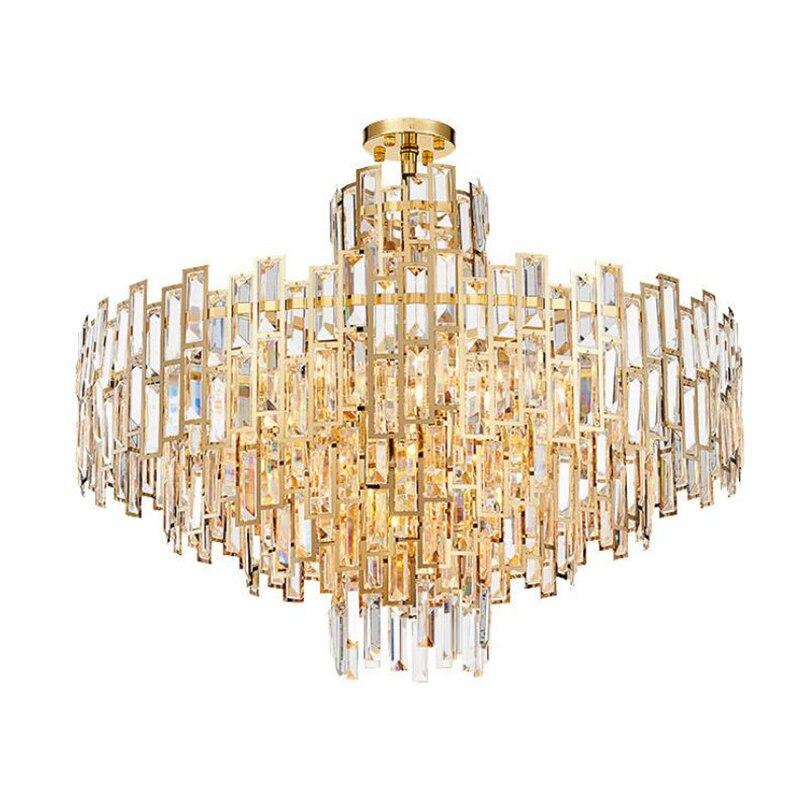 jmmxiuz moderne lustre en cristal pour le salon de luxe. Black Bedroom Furniture Sets. Home Design Ideas
