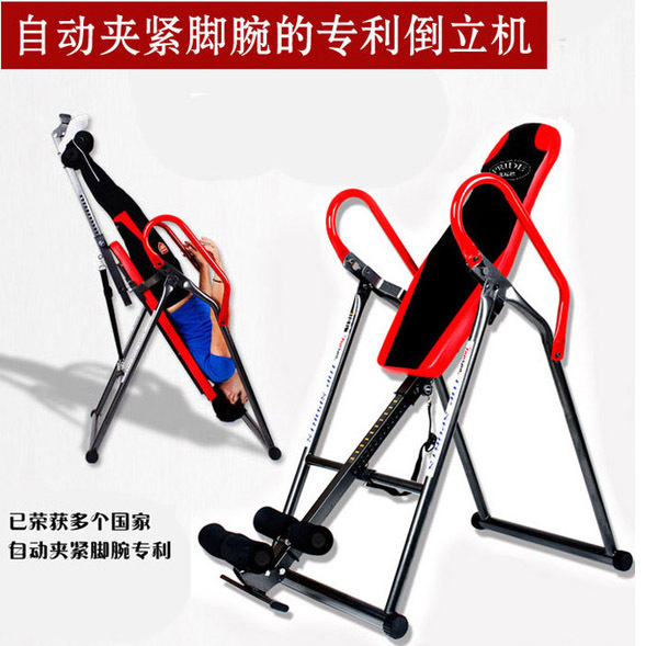 New handstand machine fitness equipment gym hanged upside down shoes boots upside down for increased sheath inverted device