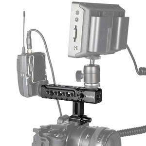 Image 5 - SmallRig NATO Rail Handle Grip With Mounting Points Shoe Mounts for Cameras/ Camcorder/ Action Camera/Camera Cages 1955