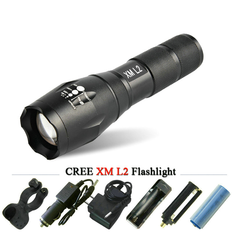 Mini lanterna led zoomable cree xml t6 xml l2 flsglight 18650 rechargeable battery led torch bike lamp tactical flash lights sitemap 20 xml