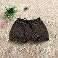 2016 de Moda de Verano Ropa de Los Niños de la Muchacha Ocasional Pantalones Cortos de Cintura Elástica Con Bolsillo Niños Pantalones Cortos Pantalones Adolescente