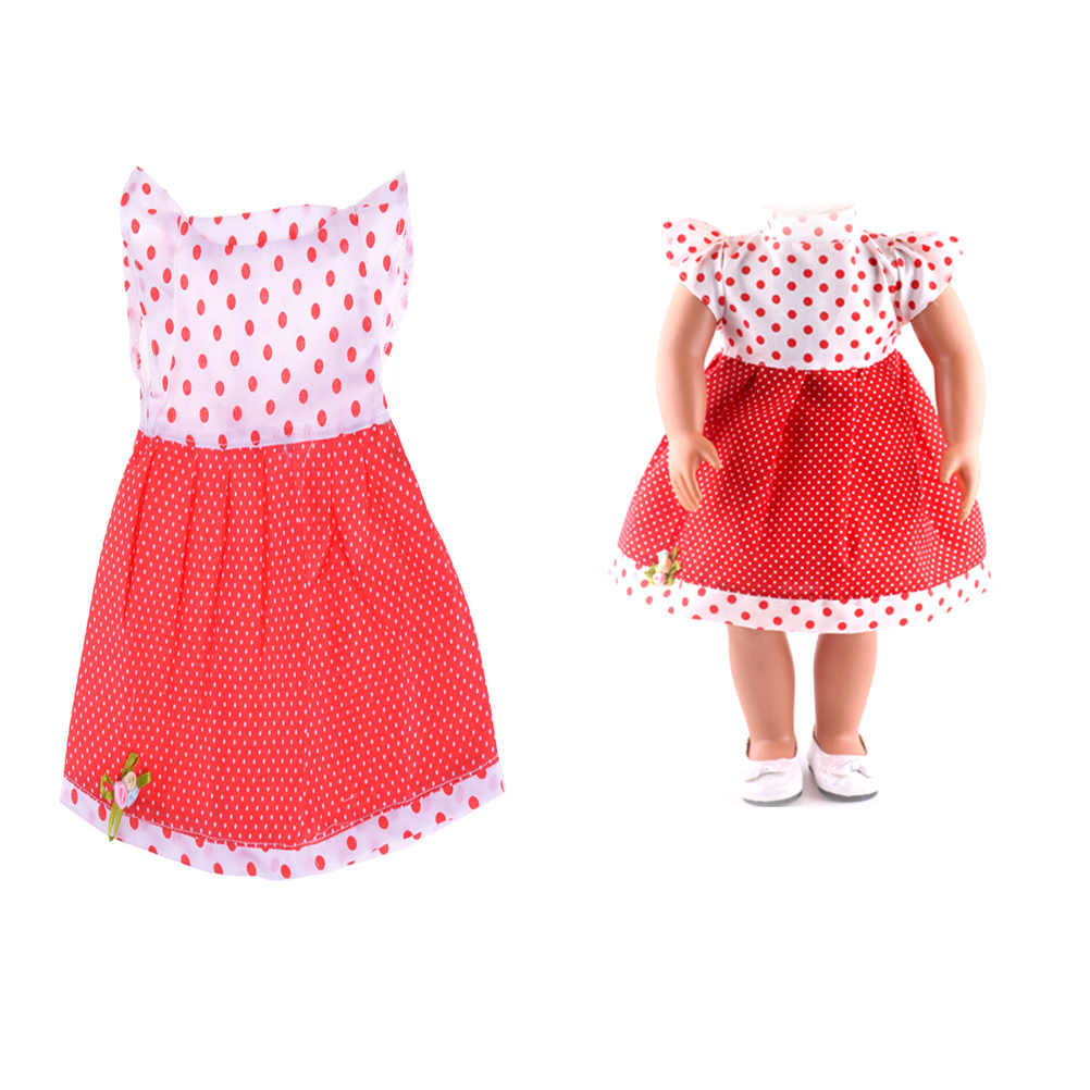 43cm 18inch Baby Born Doll Accessories Princess Dress Doll Cothes fit Baby Born Doll Clo ...