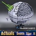 2016 Nueva LEPIN 05026 3449 Unids Star Wars Death Star II Kits de Edificio modelo Bloques Ladrillos Compatibles Chilsren Juguetes de Regalo Con 10143