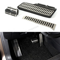 Passat automatic Foot Pedal Accelerator Brake Plate car covers for Volkswagen VW Sagitar Passat Touran