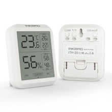 Inkbird ITH 20 High Accuracy Digital Hygrometer Thermometer Indoor Electronic Temperature Humidity Hygrometer Weather Station
