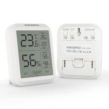 Inkbird ITH 20 عالية الدقة مقياس الرطوبة الرقمي ميزان الحرارة داخلي درجة الحرارة الإلكترونية الرطوبة الرطوبة محطة الطقس
