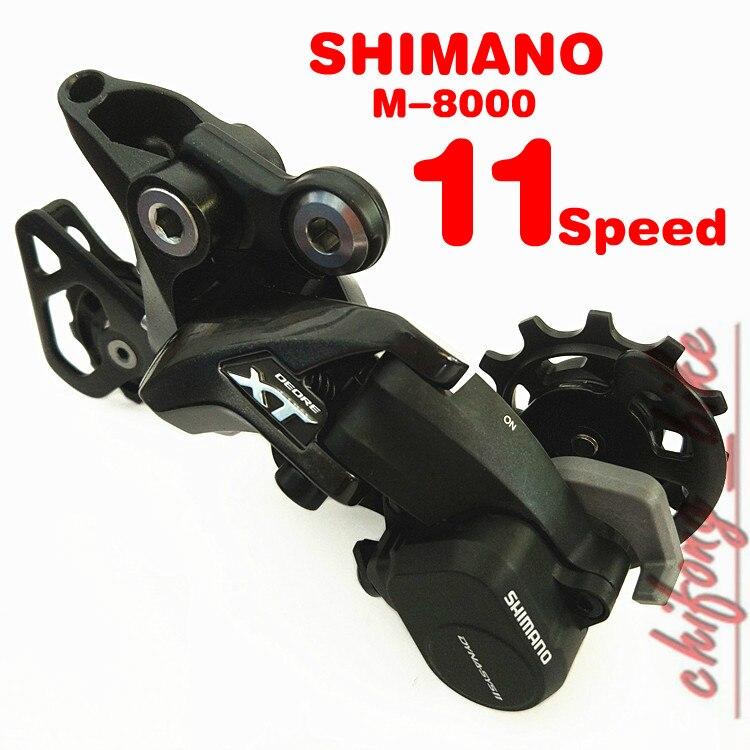 купить SHIMANO Deore XT Derailleur Bicycle Derailleur Bike Parts RD-M8000 bicycle bike  MTB 11speed Bike Rear Derailleur Controller недорого