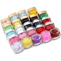 New Style 24 Color to Choose 1pcs Colorful Solid UV Gel Nail Art Decoration Color 1-12 Free Shipping
