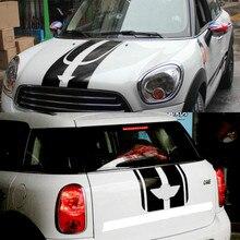 Капот+ мотор+ задний багажник наклейки и наклейки автомобиля-Стайлинг автомобиля для Mini Cooper Countryman R60 2011- Аксессуары