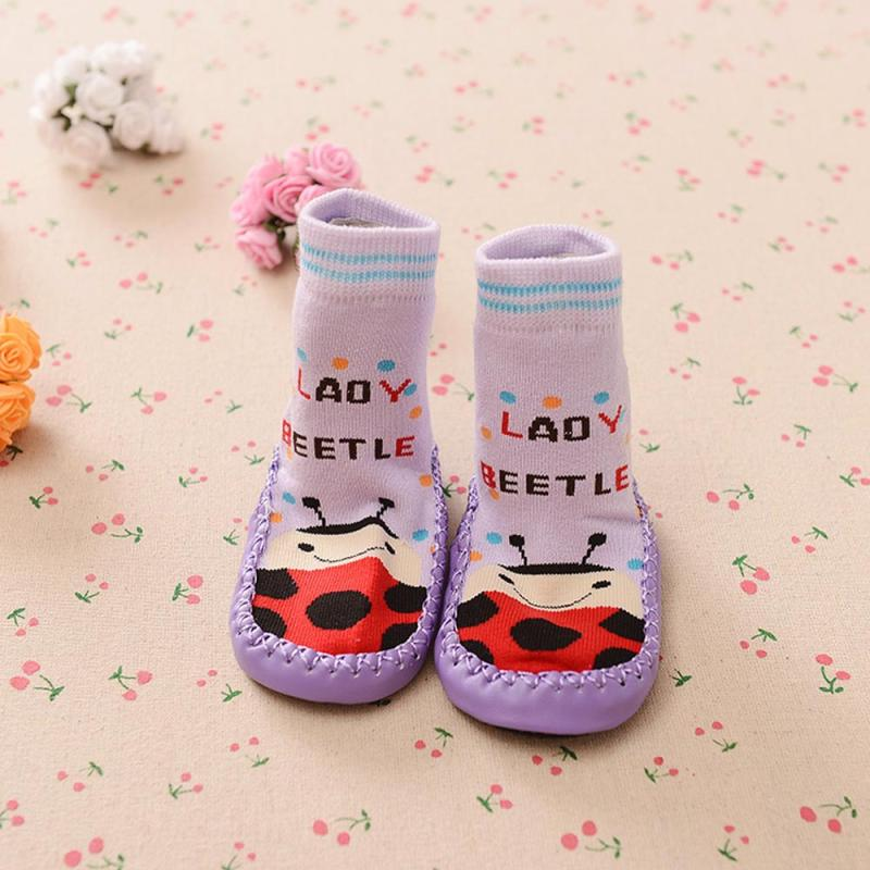 BMF TELOTUNY Baby Girls Boys Cartoon Cotton Kids Toddler Baby Anti-slip Sock Shoes Boots Slipper Socks Apr16 Drop Ship