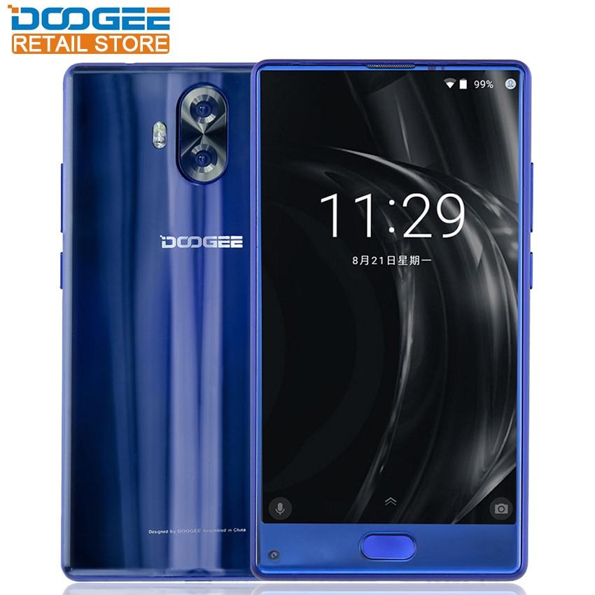 Doogee Mix Lite 5.2 HD Mobile Phone Android 7.0 MT6737 Quad Core 2GB RAM 16GB ROM 13MP Dual Camera Fingerprint ID 4G SmartPhone