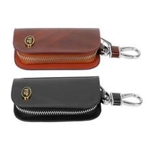 VIP Key Case Bag Car Key Holder Wallets Car-styling Interior Accessories Key Organizer Housekeeper Universal Leather Key Cover