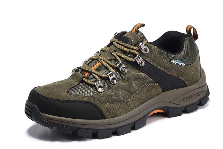 ФОТО 2016 Autumn Winter Men Outdoors Sport Shoes Anti-skid Wear resistant breathable Hiking Climbing Mountaineering Shoes