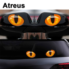Atreus Car Rear Window Wiper Cat Stickers For Suzuki Grand Vitara Swift