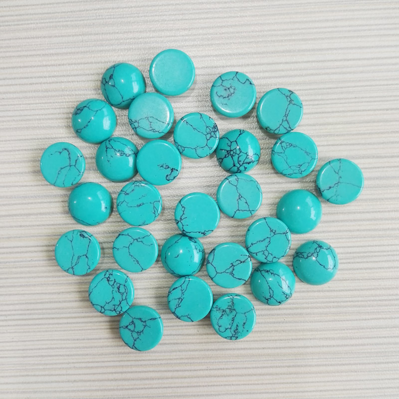 Wholesale fashion natural round stone beads 12x12mm calaite stone CAB CABOCHON loose beads for jewelry 50pcs/lot
