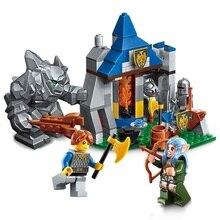 ENLIGHTEN The War Of Glory Legolas Stone Giant Knights Battle Building Blocks Set Model Kids Toys Gift Compatible Legoings Nexo
