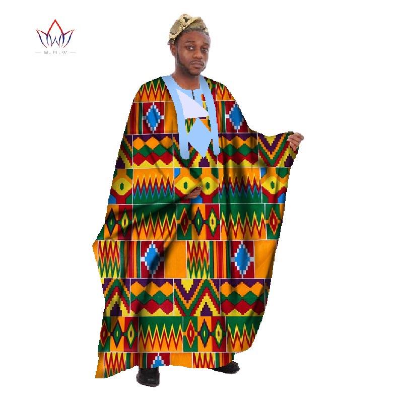 Egendefinert menn Afrikansk klær Langermet menn Løs Thobe Robe - Nasjonale klær - Bilde 3