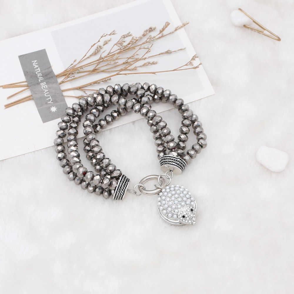 5 шт. Mix 20 мм Ежик зубчатые кнопки с серебряным покрытием с жемчугом и стразами KC7718 ювелирные украшения с застежкой самодельные светодиодные браслеты для женщин