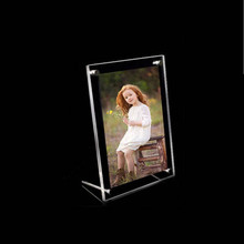 (GT3156-5inch) 5″x3.5″ Free Standing Acrylic Picture Frames With Screws For Christmas Gifts