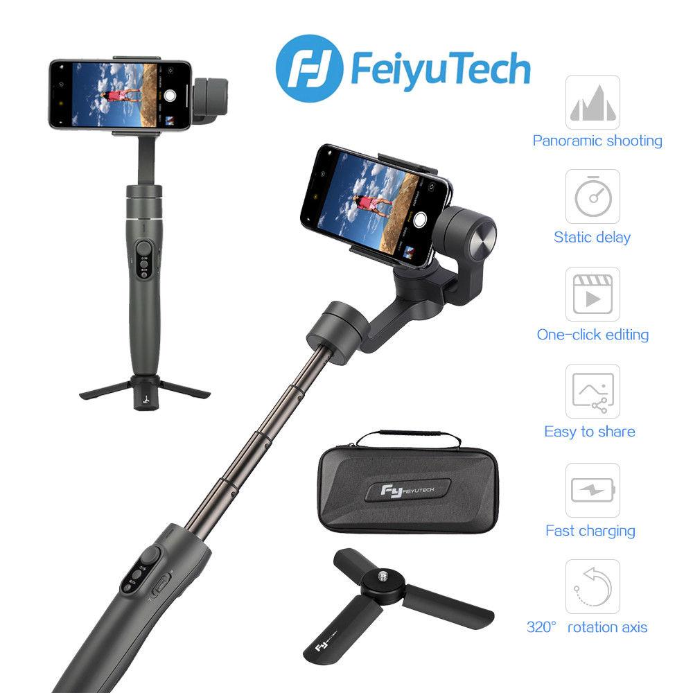 Stabilisateur de cardan 3 axes extensible Feiyu Tech Vimble 2 pour Smartphone