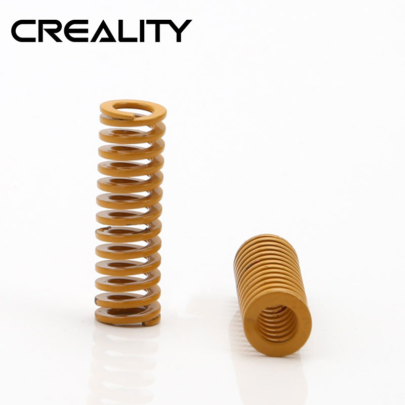 CREALITY 3D Facotry Supply Printer Parts Yellow Bed Spring For Heated bed CR-10 CR-10S Series 3D Printer