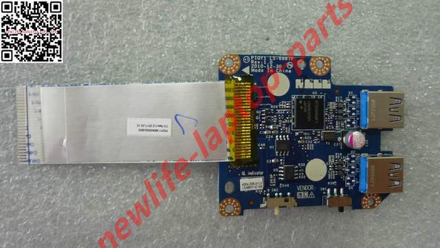 Original Y570 USB 3.0 PLACA LS-6887P bom teste frete grátis