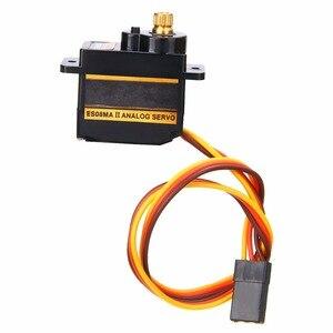 Металлический сервопривод для EMAX ES08MA II, 1 комплект, высокоскоростная аналоговая передача ES08 с аксессуарами, 12 г/1,8 кг/10 сек