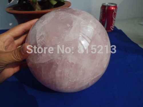 Ddh001028 Natürliche Rose Quartz Crystal Sphere Ball Liebe Healing China