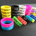 50PCS Vape ring Silicone rubber band for 22mm rda decorative protection vape rubber band 18650 mechanical mods e cig accessories