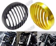 Фара передняя Рамка Крышка Гриль Алюминий Для 2004-2014 Harley Sportster XL XR 883 1200 XL883N XL1200V XL1200X XL1200R