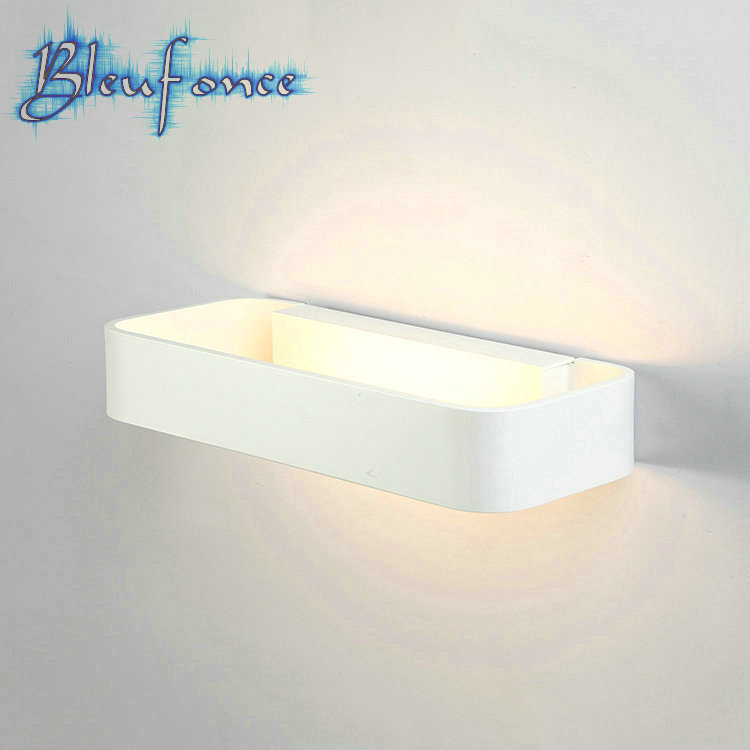 Continental led wall lamp led led bathroom mirror for Modern minimalist lighting