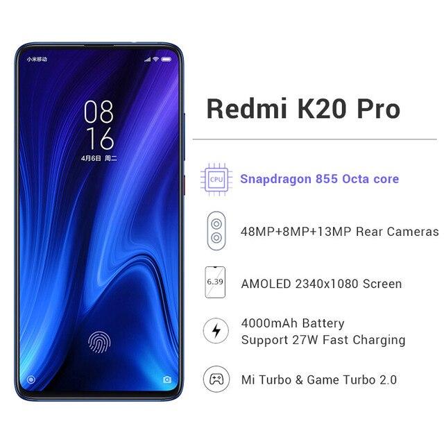 Global Rom Xiaomi Redmi K20 Pro 6GB Xiaomi Mobile Phones