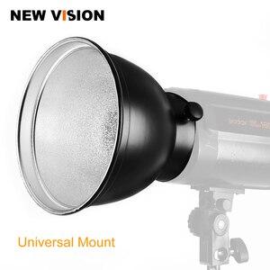 """Image 1 - Универсальное крепление для фотостудии Godox, студийный осветительный светильник 180 мм 7 """"с отражателем, для Godox, K 180A, 300SDI, 250SDI, E250, E300"""