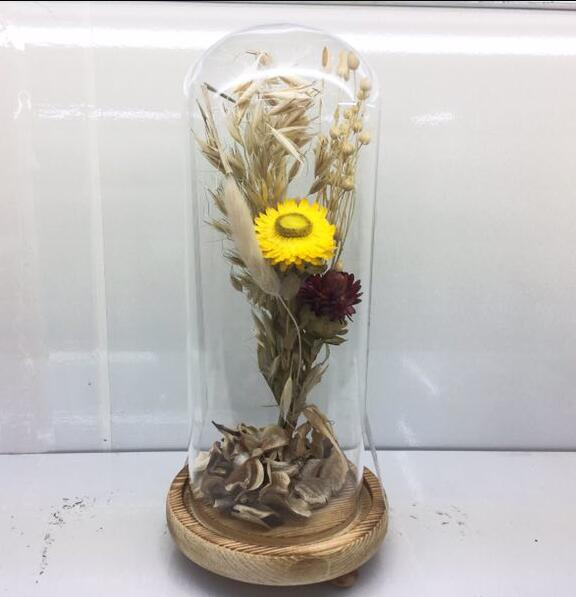 Factory outlet wedding decoration micro landscape dry flower glass factory outlet wedding decoration micro landscape dry flower glass vase permanent flower in vases from home garden on aliexpress alibaba group junglespirit Gallery